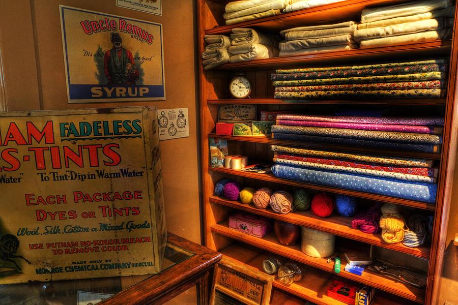 66 Photograph - Antique General Store Linen - General Store - Vintage - Nostalgia by Lee Dos Santos
