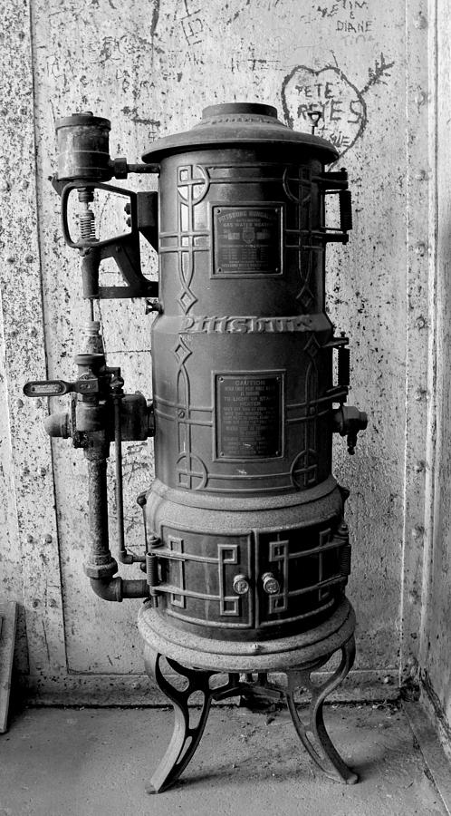Antique Hot Water Heater Photograph By Eddy Chance
