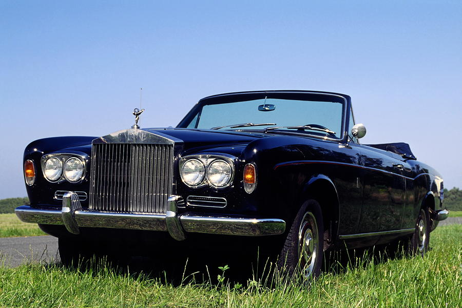 Antique Rolls Royce Photograph By Sally Weigand