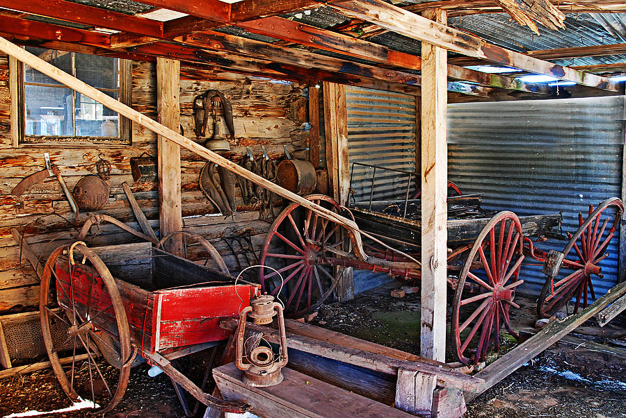 Photograph Photograph - Antique Shed by Melany Sarafis