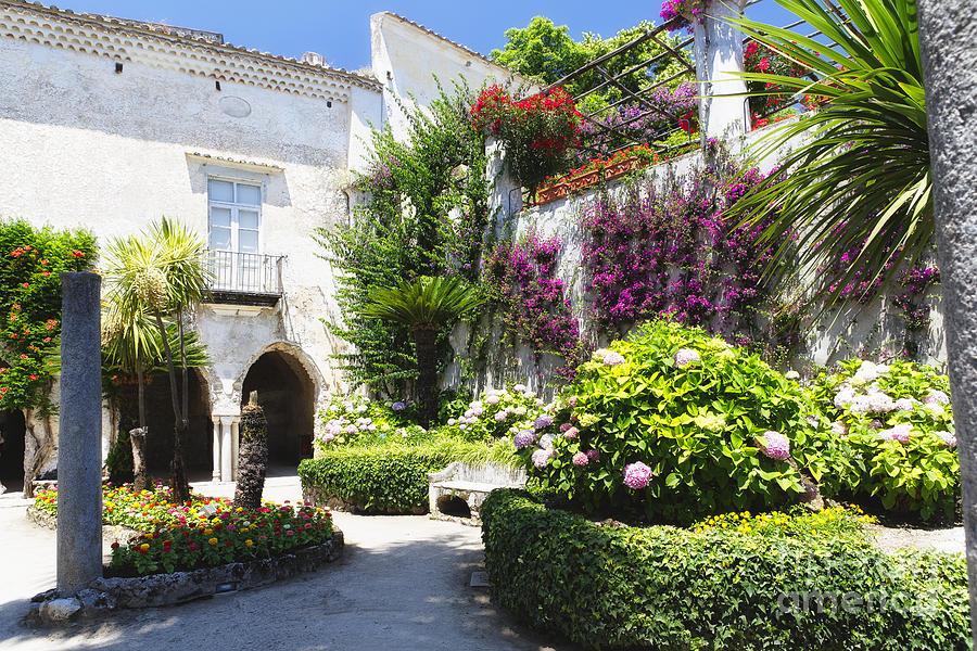 Antique Villa Garden Photograph By George Oze