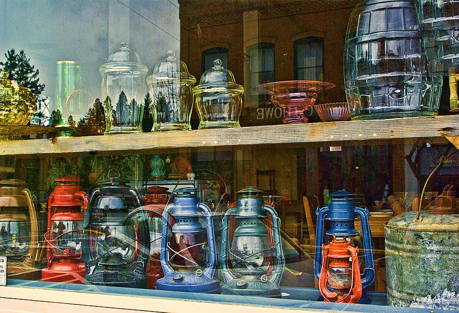Lantern Photograph - Antiques For Sale by Dale Stillman