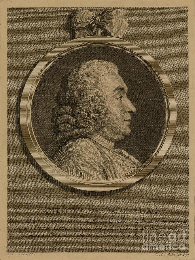 1777 Photograph - Antoine Deparcieux by Granger