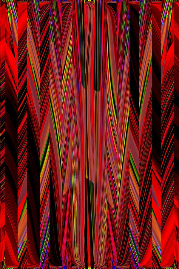 Abstract Digital Art - Any Way You Slice It 3 by Tim Allen
