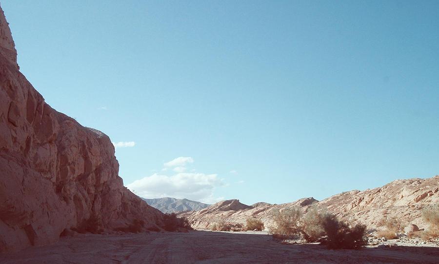 Nature Photograph - Anza Borrego Mountains by Naxart Studio