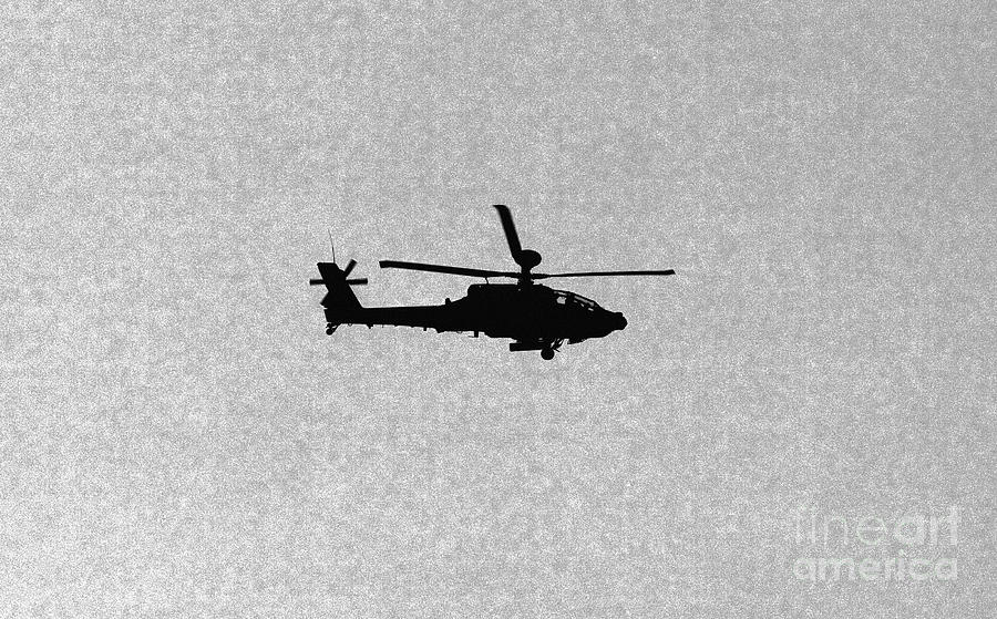 Apache Photograph - Apache Attack Helicopter by Darren Burroughs
