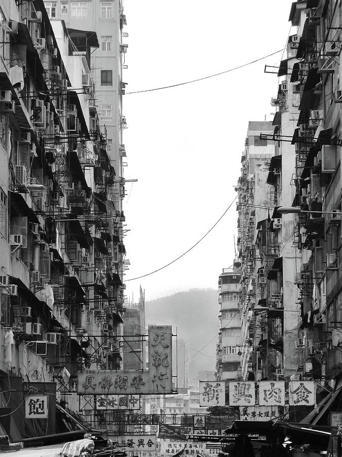 Vertical Photograph - Apartment Buildings by All rights reserved to C. K. Chan