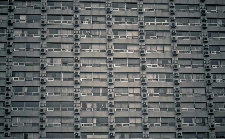 Charmant Horizontal Photograph   Apartment Windows By Tomomi