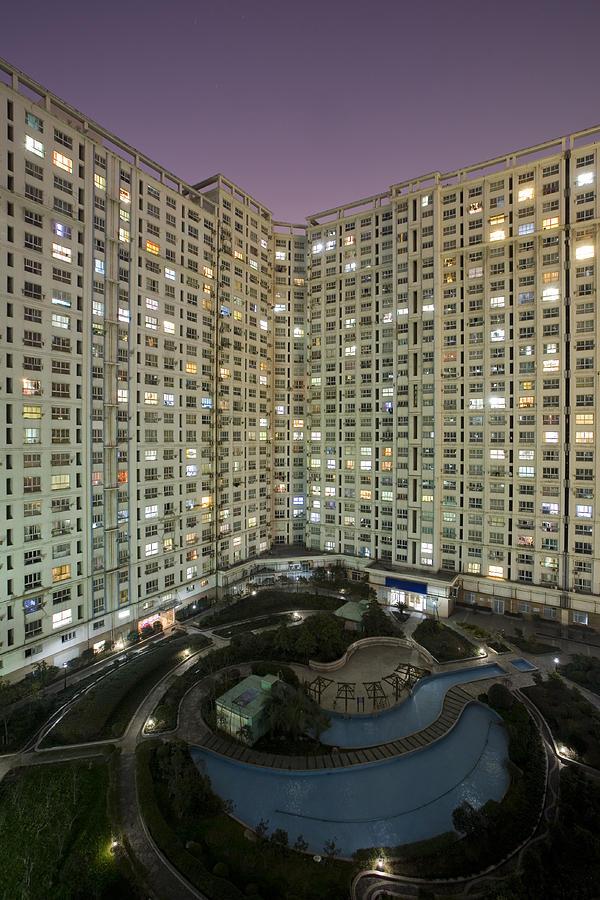 Vertical Photograph - Apartments by Arnd Dewald