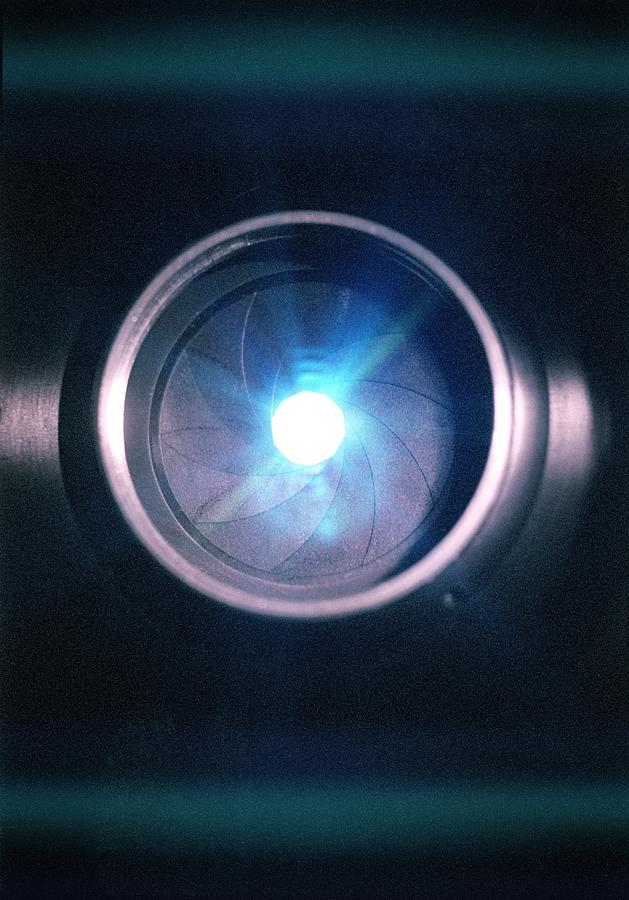 Lens Photograph - Aperture Flare by Richard Kail