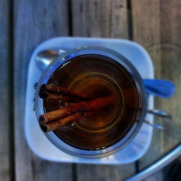 Apple Photograph - #apple #juice #tea #coffee #cinamon by Abdelrahman Alawwad