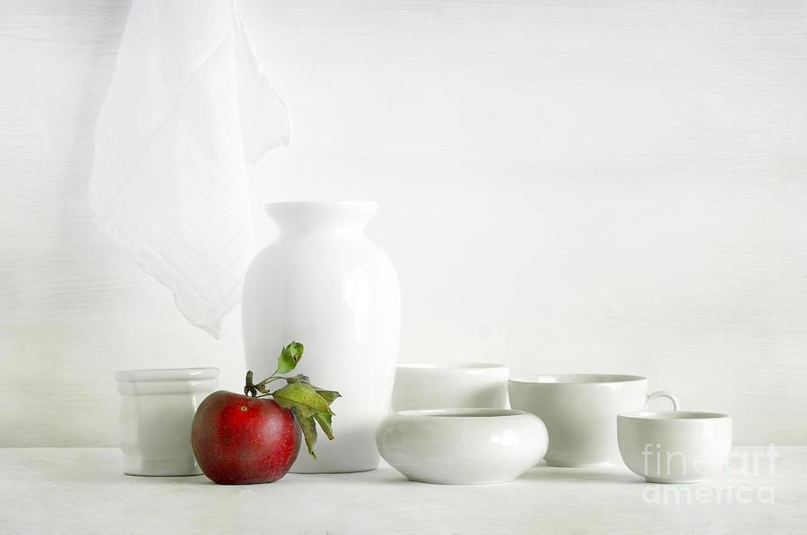 Apple Photograph - Apple by Matild Balogh