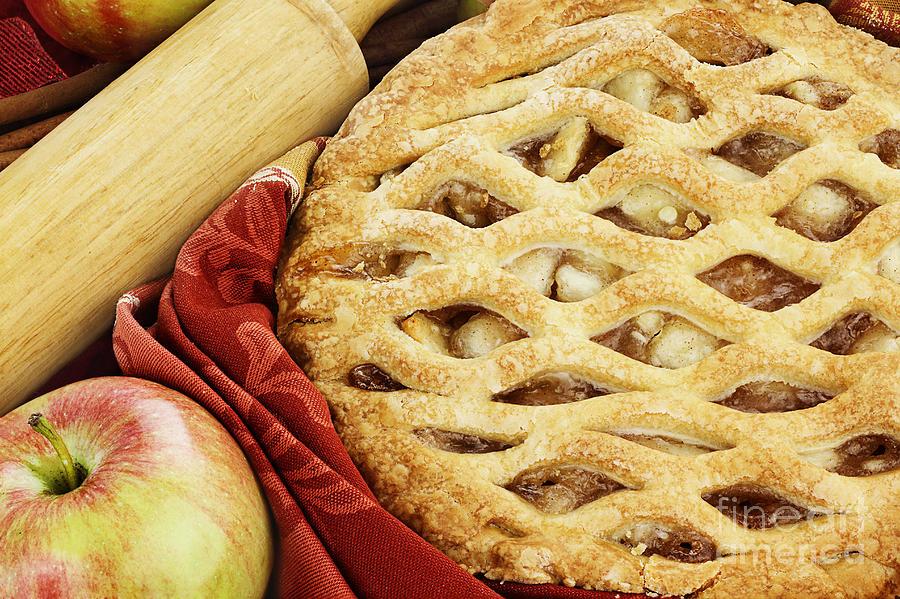 Apple Photograph - Apple Pie by Stephanie Frey