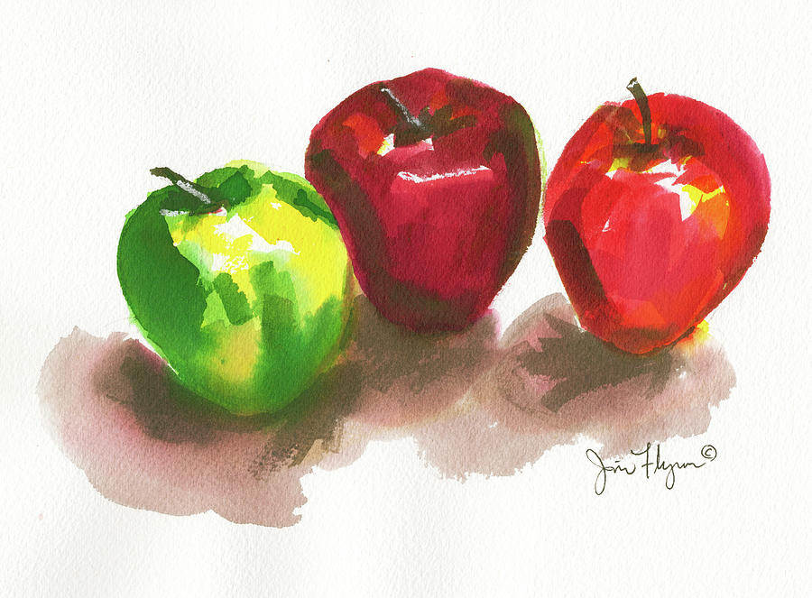 Apples by James Flynn
