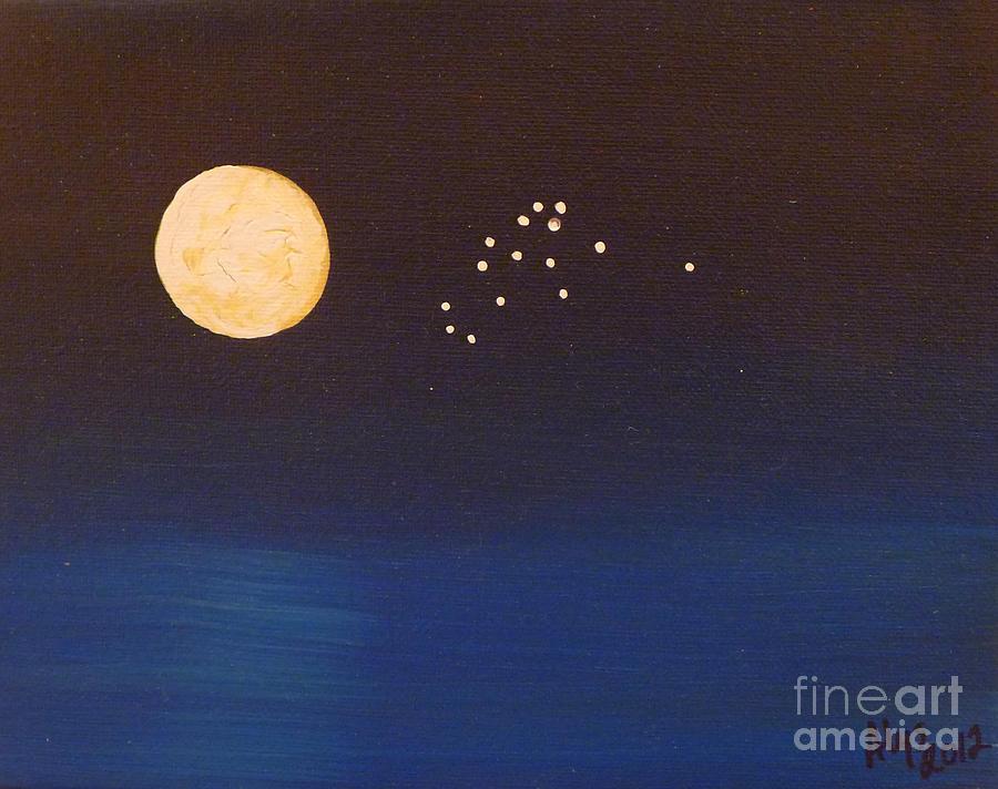 Aquarius Painting - Aquarius by Alys Caviness-Gober