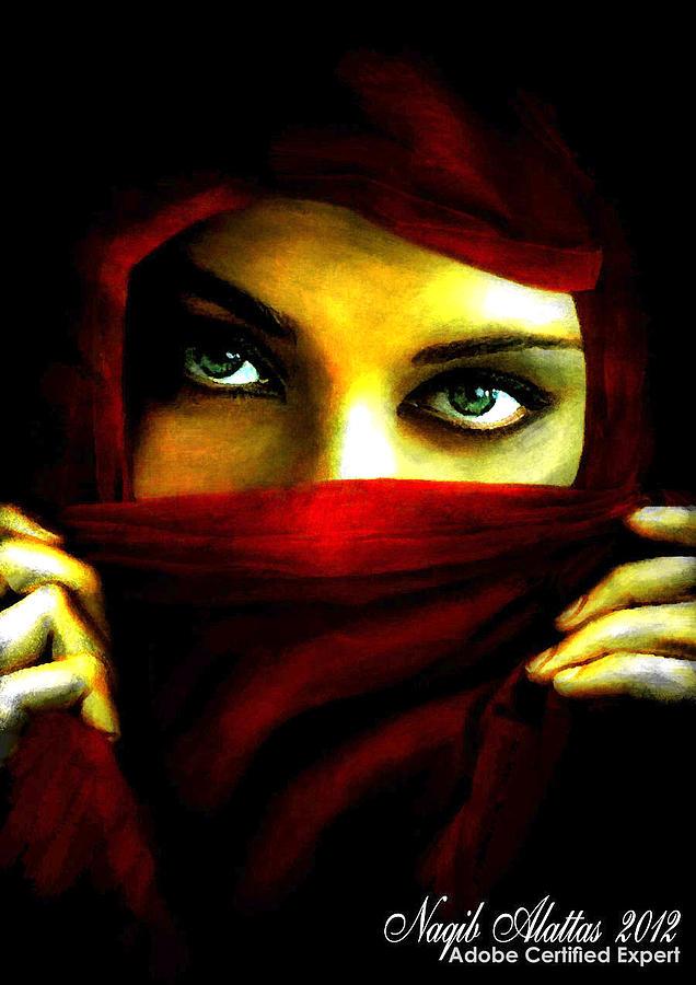 Arabian Night 4 Painting By Naqib Alattas