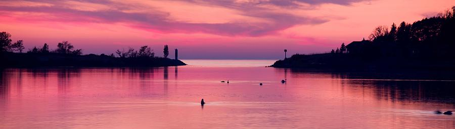 Arcadia Photograph - Arcadia Lake Sunset by Twenty Two North Photography