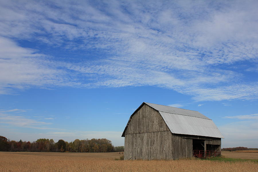 Barn Photograph - Arcadia by Sheryl Burns