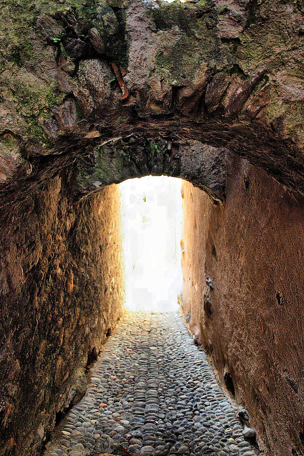 Alley Photograph - Arch In The Alley by Ettore Zani