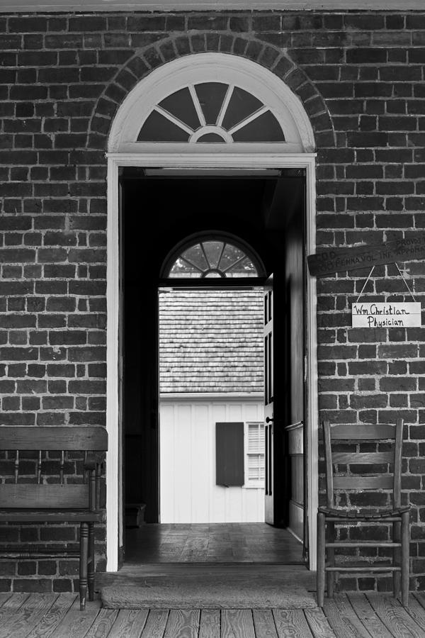 Appomattox Photograph - Arched Doors Appomattox Virginia by Teresa Mucha