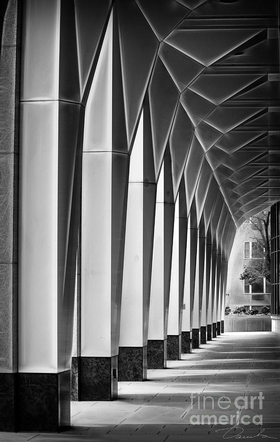 Pass Photograph - Arched Passageway by Danuta Bennett