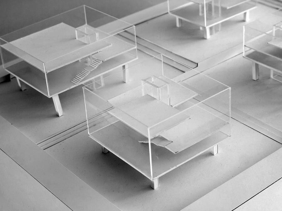 Architectural Study Model Photograph By Sira Anamwong