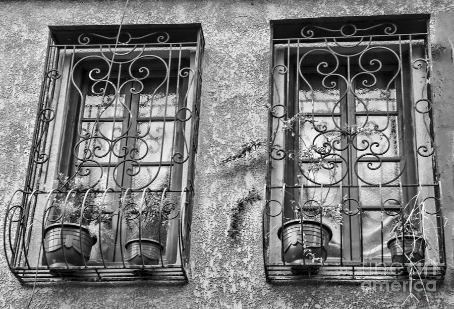 Morocco Photograph - Architecture Bw I by Chuck Kuhn
