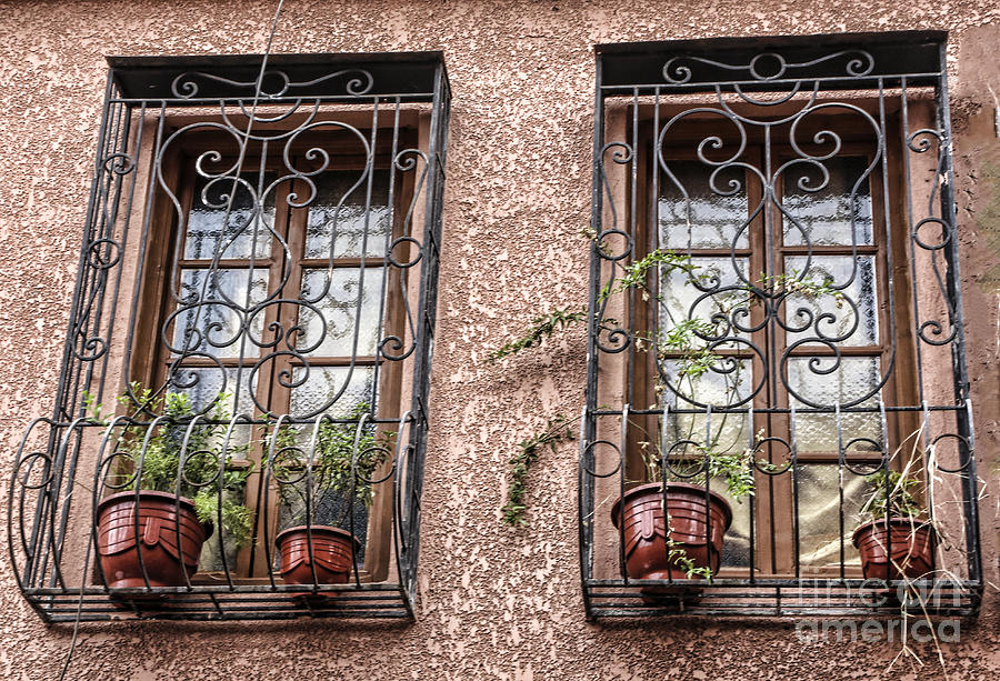 Morocco Photograph - Architecture I Windows by Chuck Kuhn