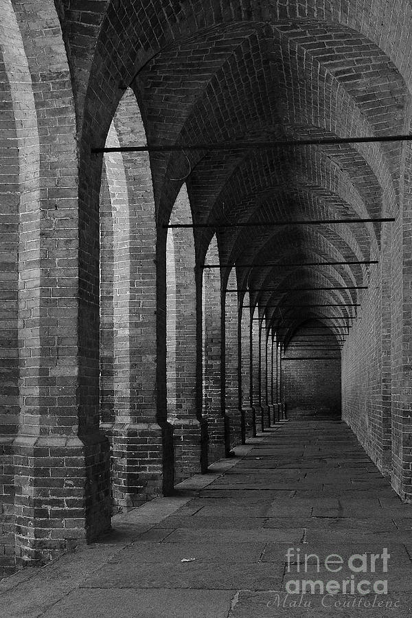 Archs Photograph - Archs At Lagenzia Pollenzo by Malu Couttolenc