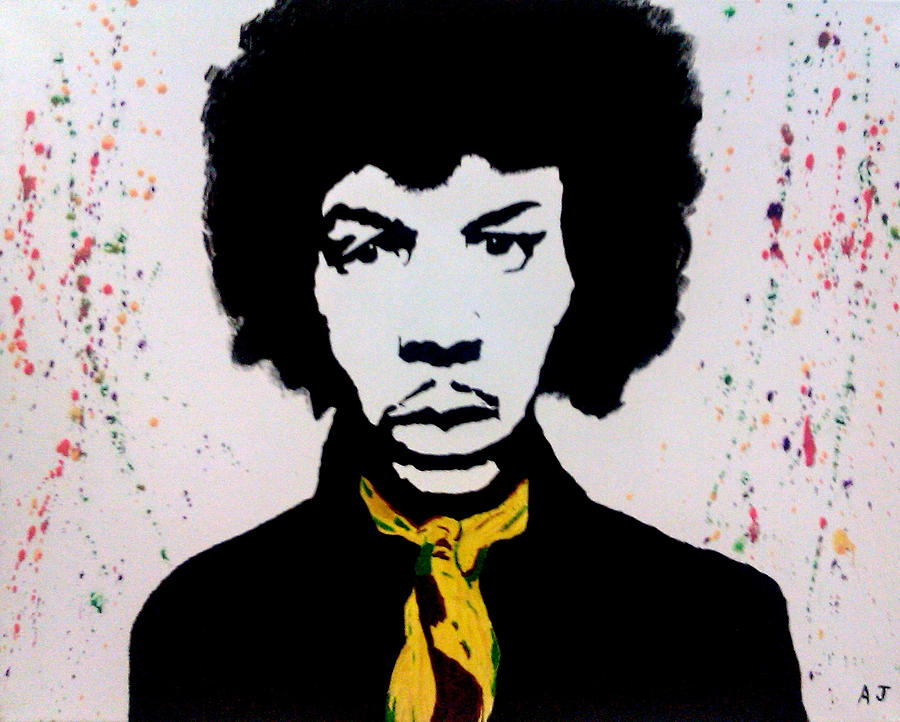 Jimi Hendrix Painting - Are You Experienced by Austin James