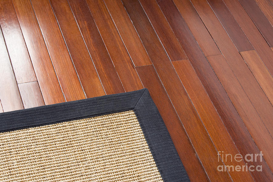Architectural Detail Photograph   Area Rug On Wood Floor By Shannon Fagan
