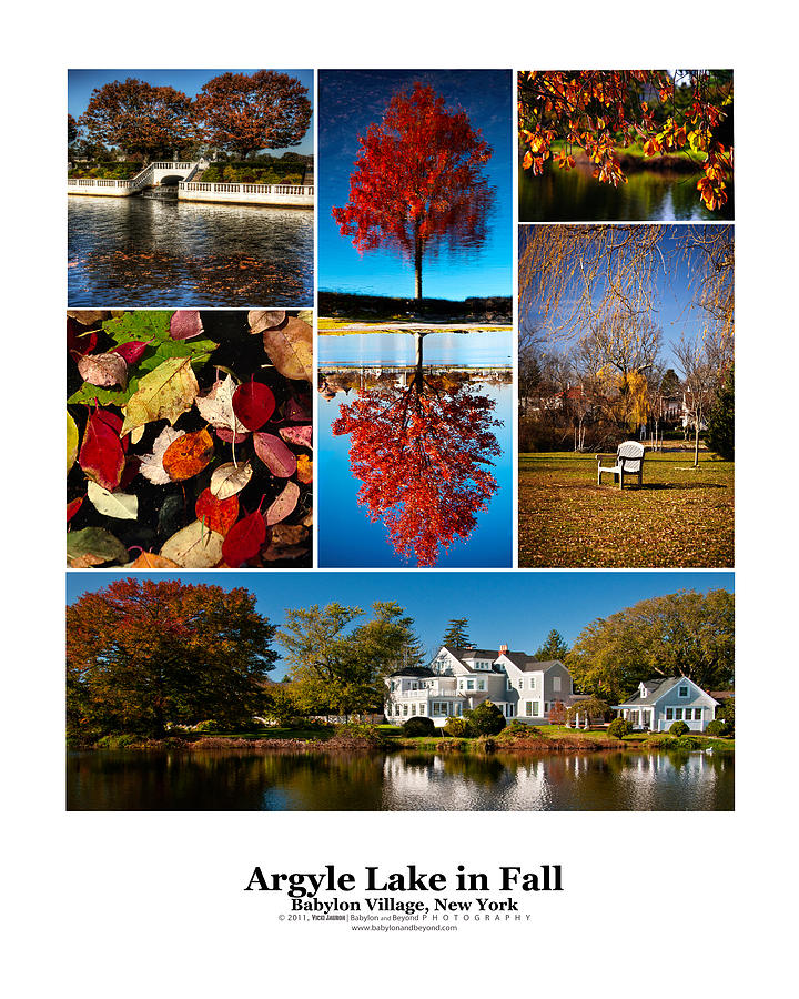 Babylon Photograph - Argyle Lake Fall Poster by Vicki Jauron