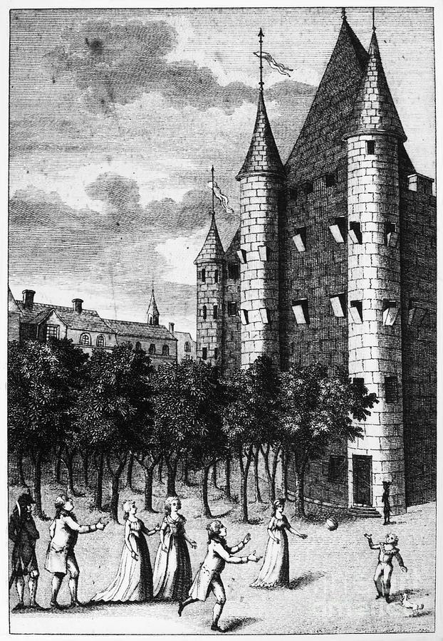1793 Photograph - Aristocrat Prisoners, C1793 by Granger