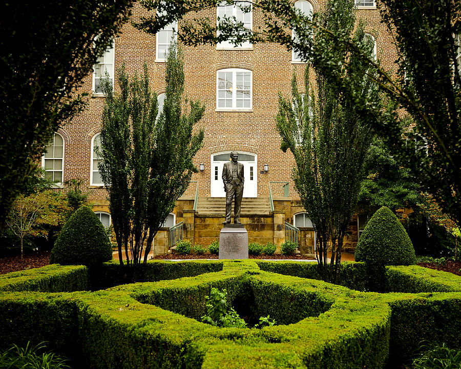 Fayetteville Photograph - Arkansas Greenery Surrounds The Arkansas Campus by Replay Photos