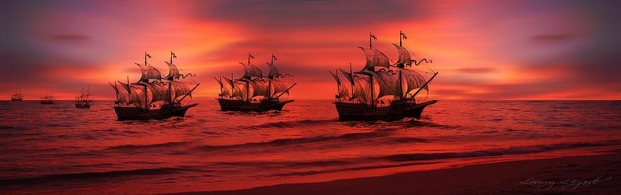 Armada Photograph - Armada by Lourry Legarde