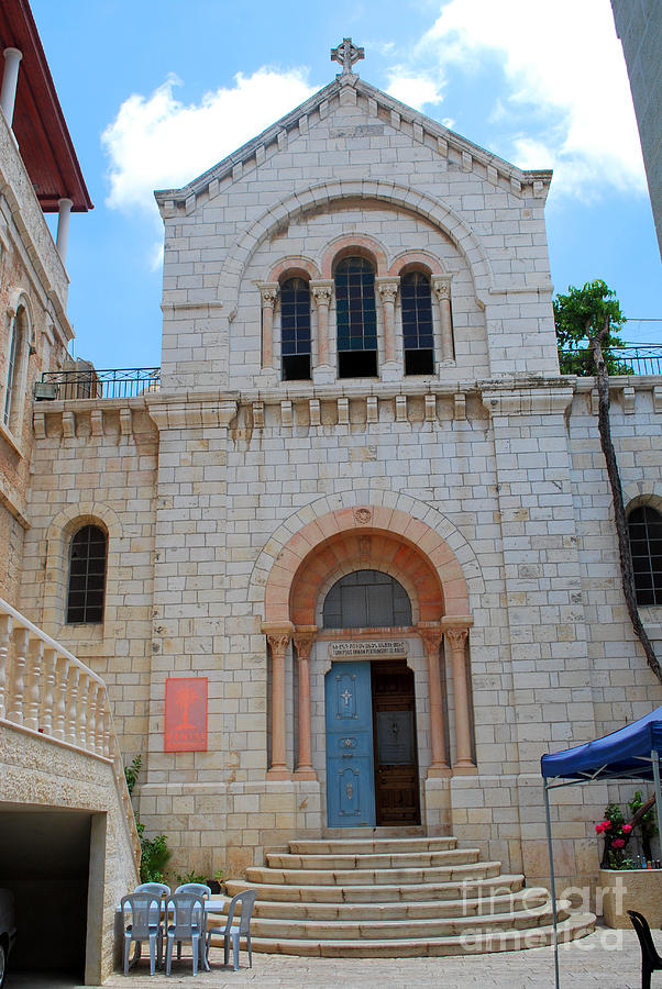 Armenian Church Of Our Lady Of The Spasm Jerusalem Via