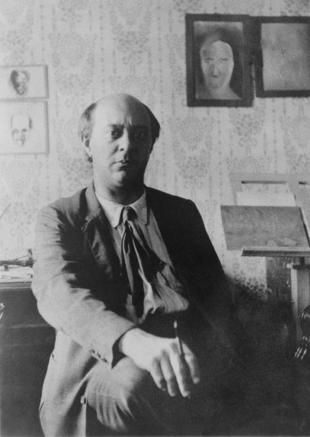 History Photograph - Arnold Schoenberg 1874-1951 by Everett