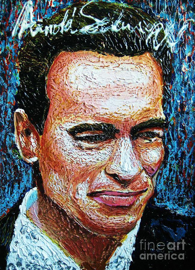 Arnold Schwarzenegger Painting by Prasert Jeeraprapot