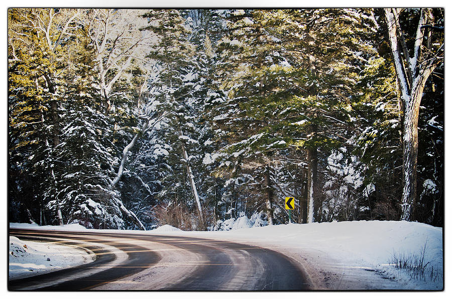 Nature Photograph - Around The Bend by Lisa  Spencer
