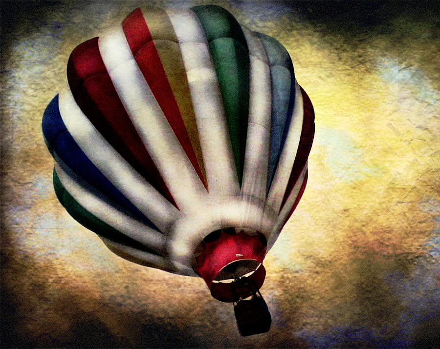 Balloons Photograph - Around The World by Colleen Kammerer