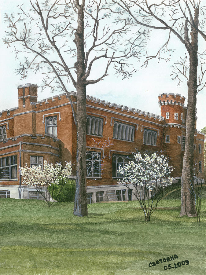 Arrival of Spring at Culver by Svetlana  Jenkins