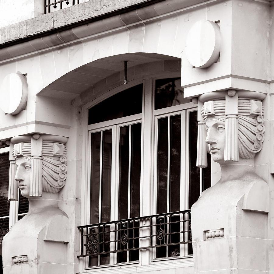 Paris Photograph - Art Deco 17 by Andrew Fare