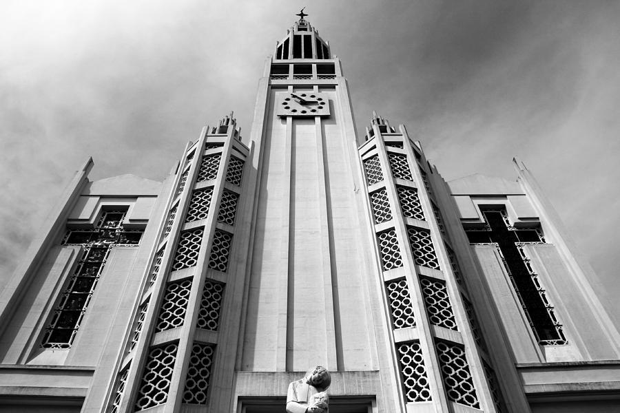 Paris Photograph - Art Deco Church by Andrew Fare