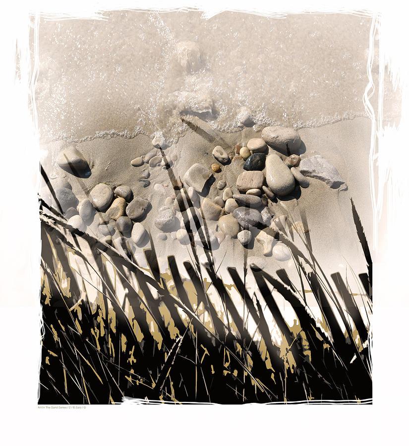 Sand Digital Art - Art In The Sand Series 2 by Bob Salo