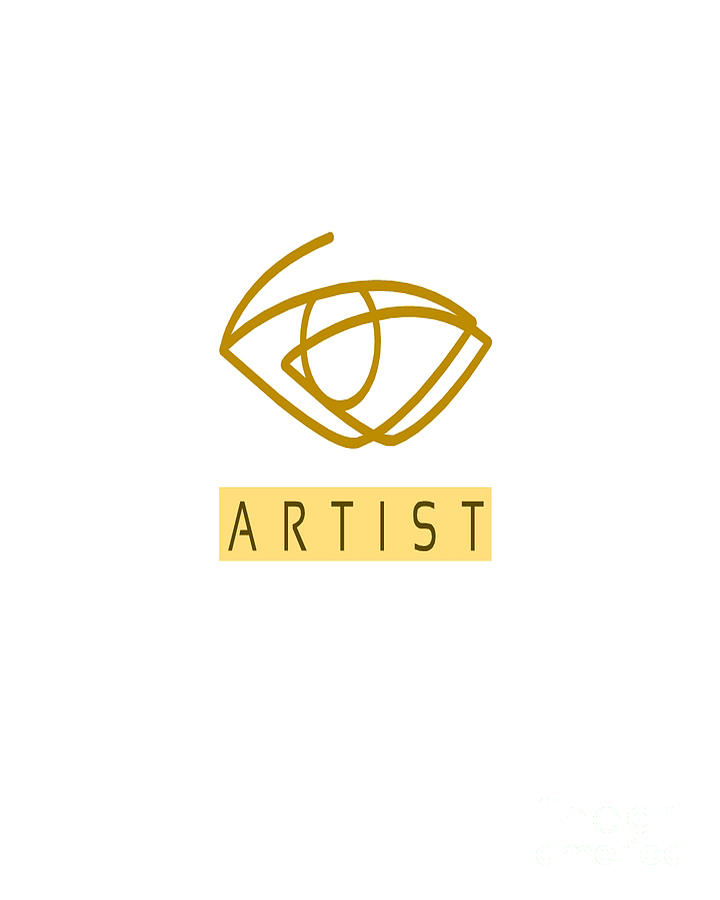 Paint Mixed Media - Art Logo Template by Mostafa Asmer