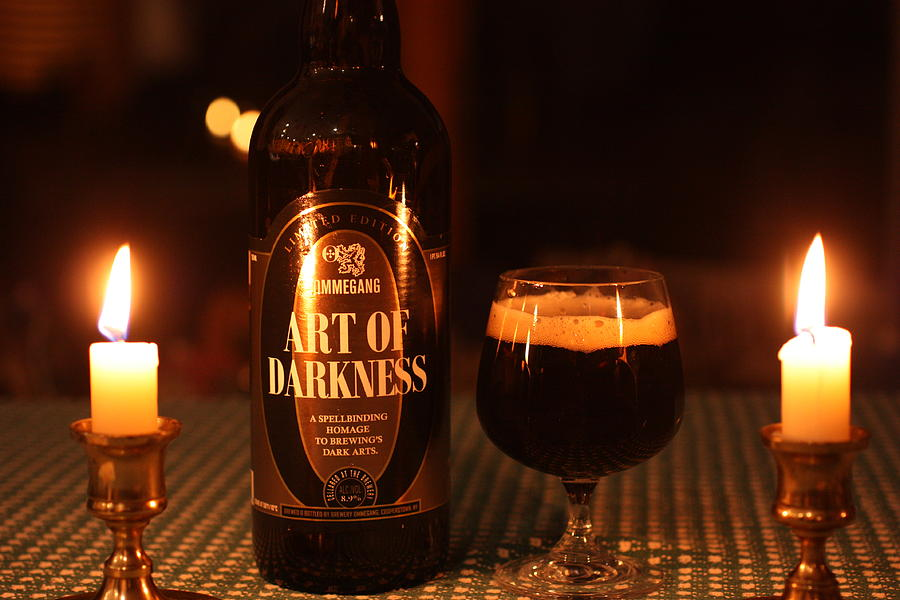 Beer Photograph - Art Of Darkness by Robert Rizzolo
