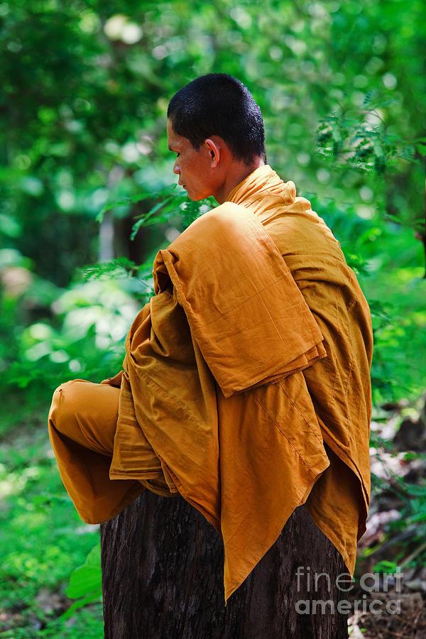 Buddhist Photograph - Art Of Meditation II by Pete Reynolds