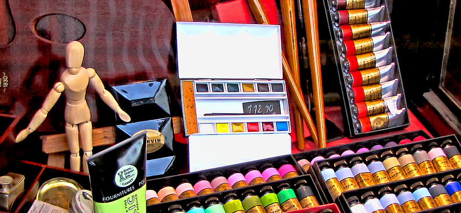Art Supply Store Display by Tony Grider
