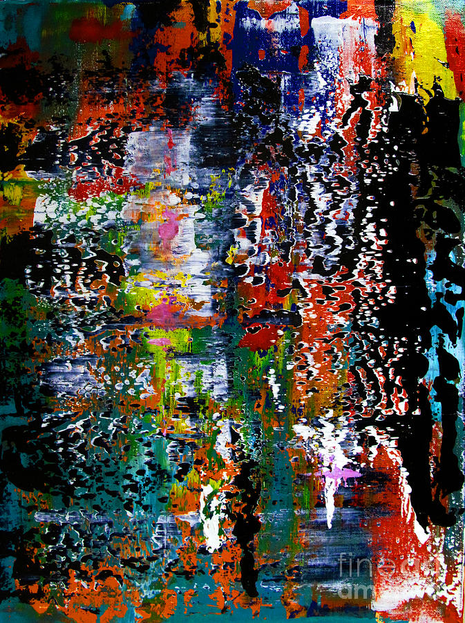 Artifact Painting - Artifact 15 by Charlie Spear