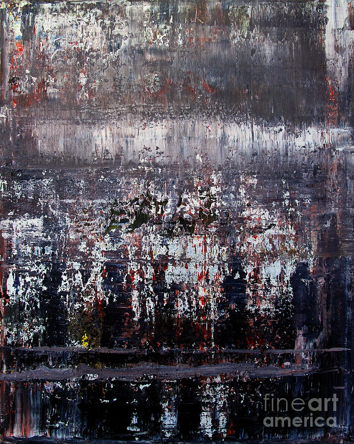 Artifact Painting - Artifact 2 by Charlie Spear
